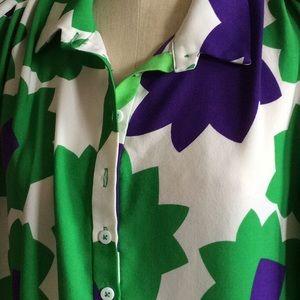 Diane Von Furstenberg Silk Dress size 12